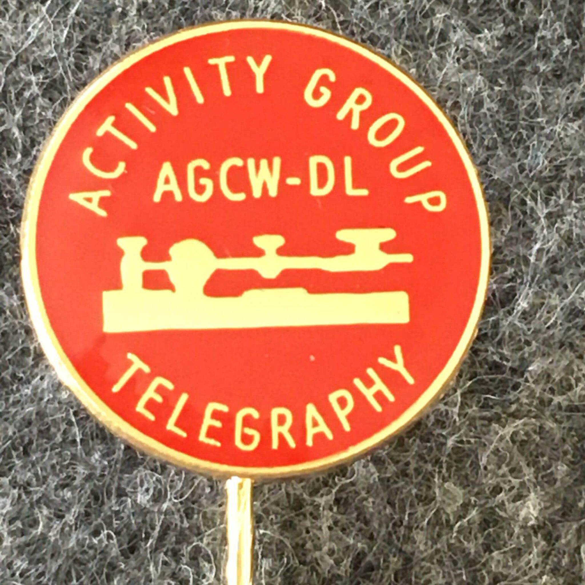 Anstecknadel AGCW